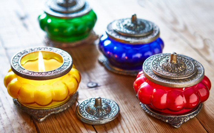 Moroccan Style Scented Candle