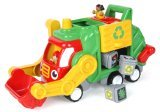 Flip'n'Tip Fred - Toy Recycling Lorry