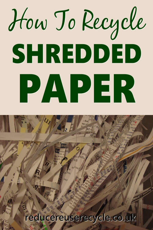 how to recycle shredded paper. Black Bedroom Furniture Sets. Home Design Ideas