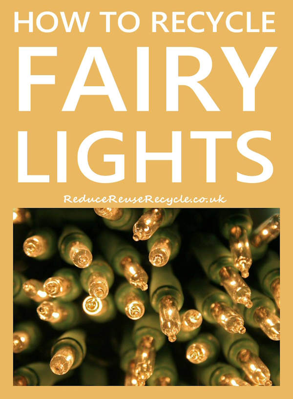 How To Recycle Fairy Lights