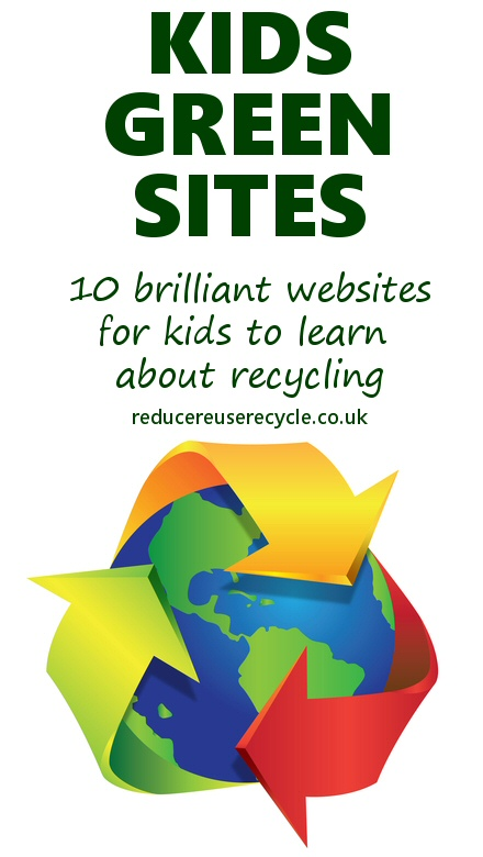 10 brilliant websites for kids to learn about recycling and the environment.