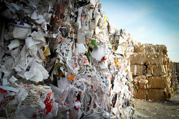 Information about recycling in West Yorkshire, UK.