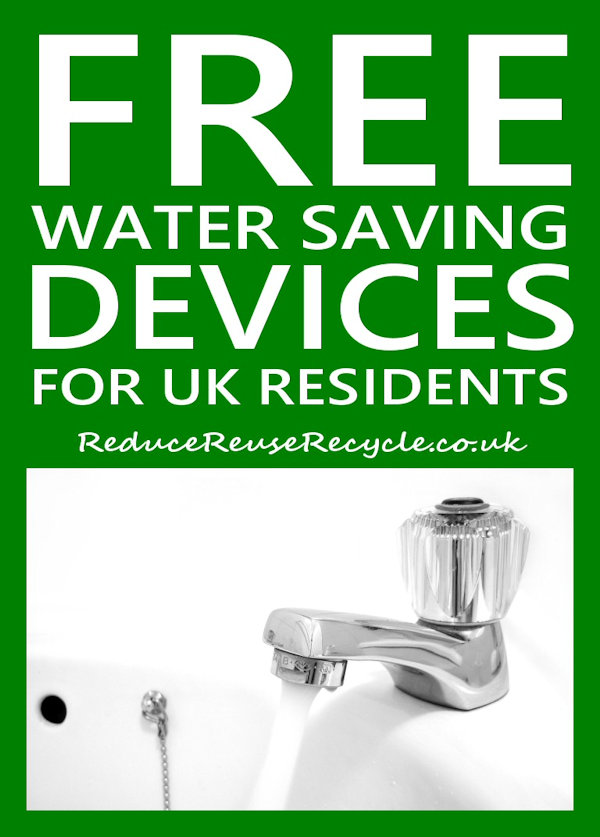 Free Water Saving Devices for UK Residents